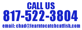 Contact North Texas Catfish Guide Service
