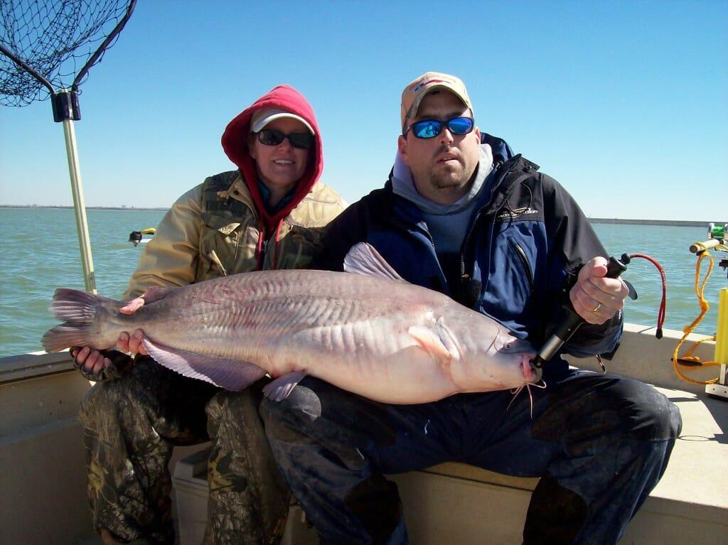 Grapevine Lake Catfish Fishing Guide