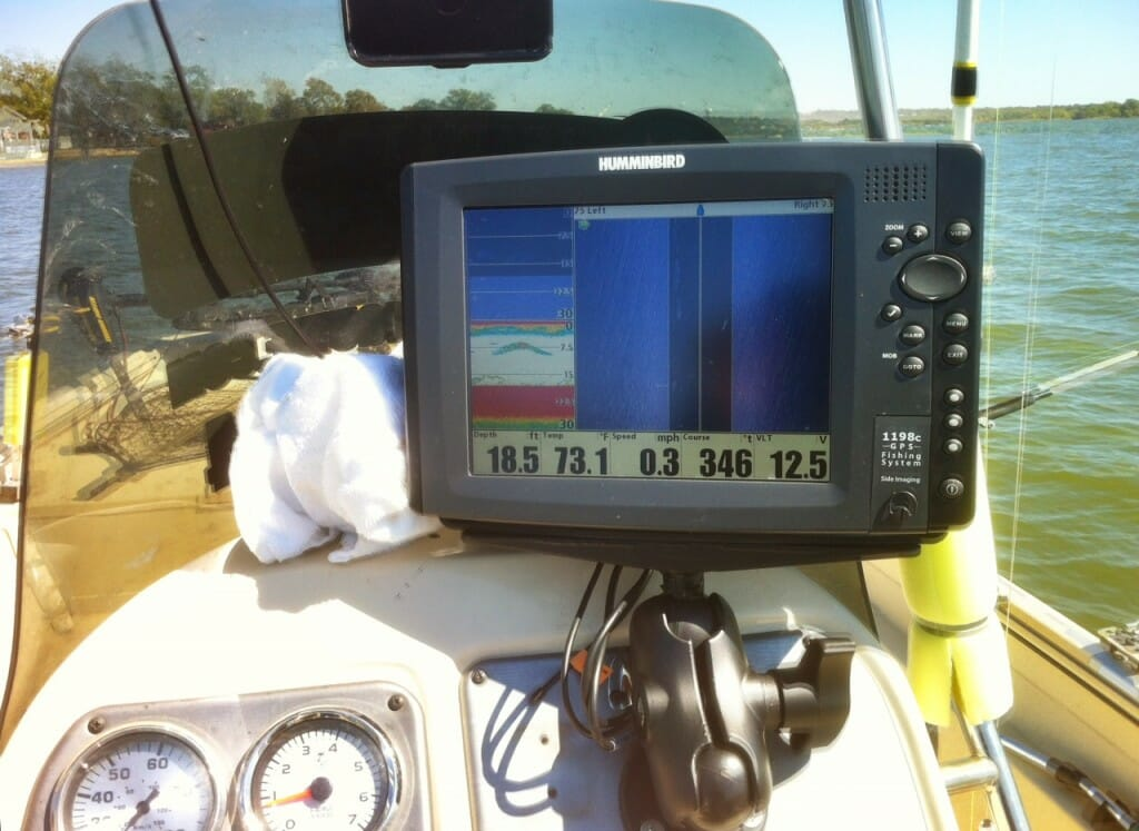 humminbird 1198 sonar fishfinder catfish