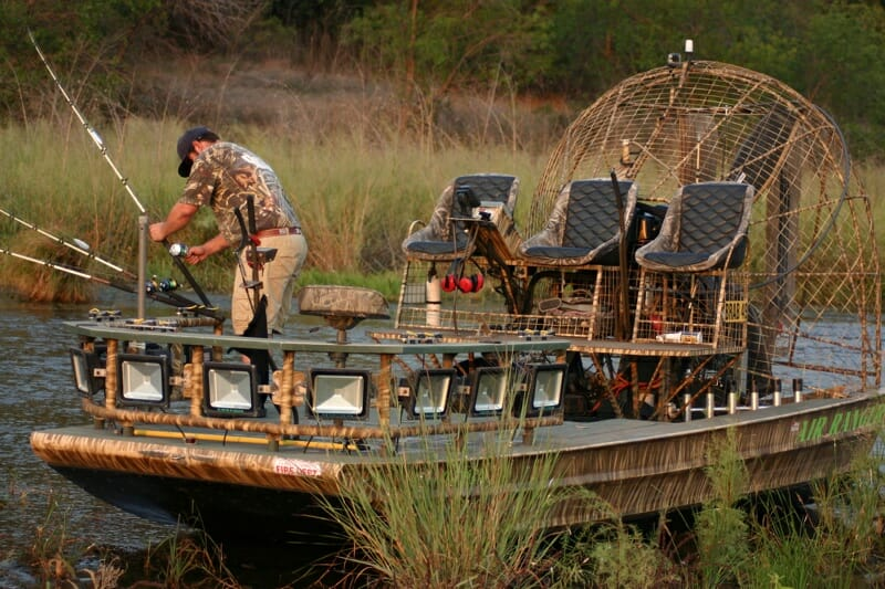 Texas Catfish Guide Airboat