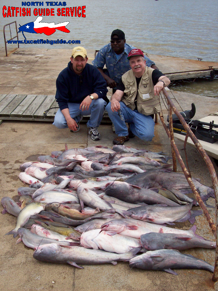 Pictures team catfish guide service fishing trips for Lake lewisville fishing guide