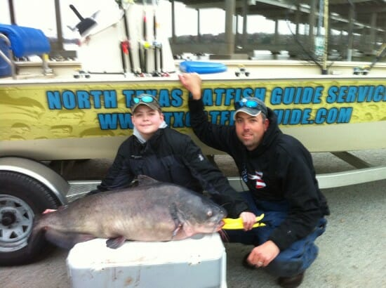 Texas State Record Blue Catfish