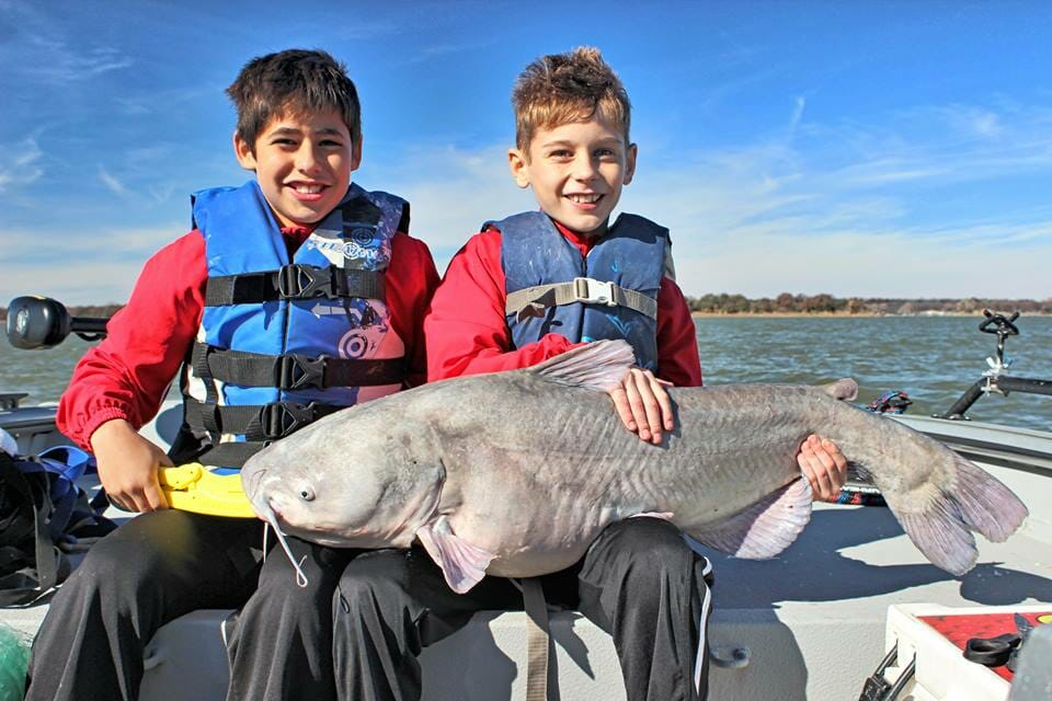 Texas Trophy Blue Catfish